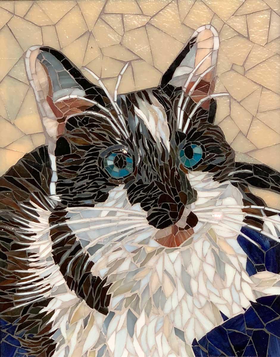 Cat Mosaic Art Commission