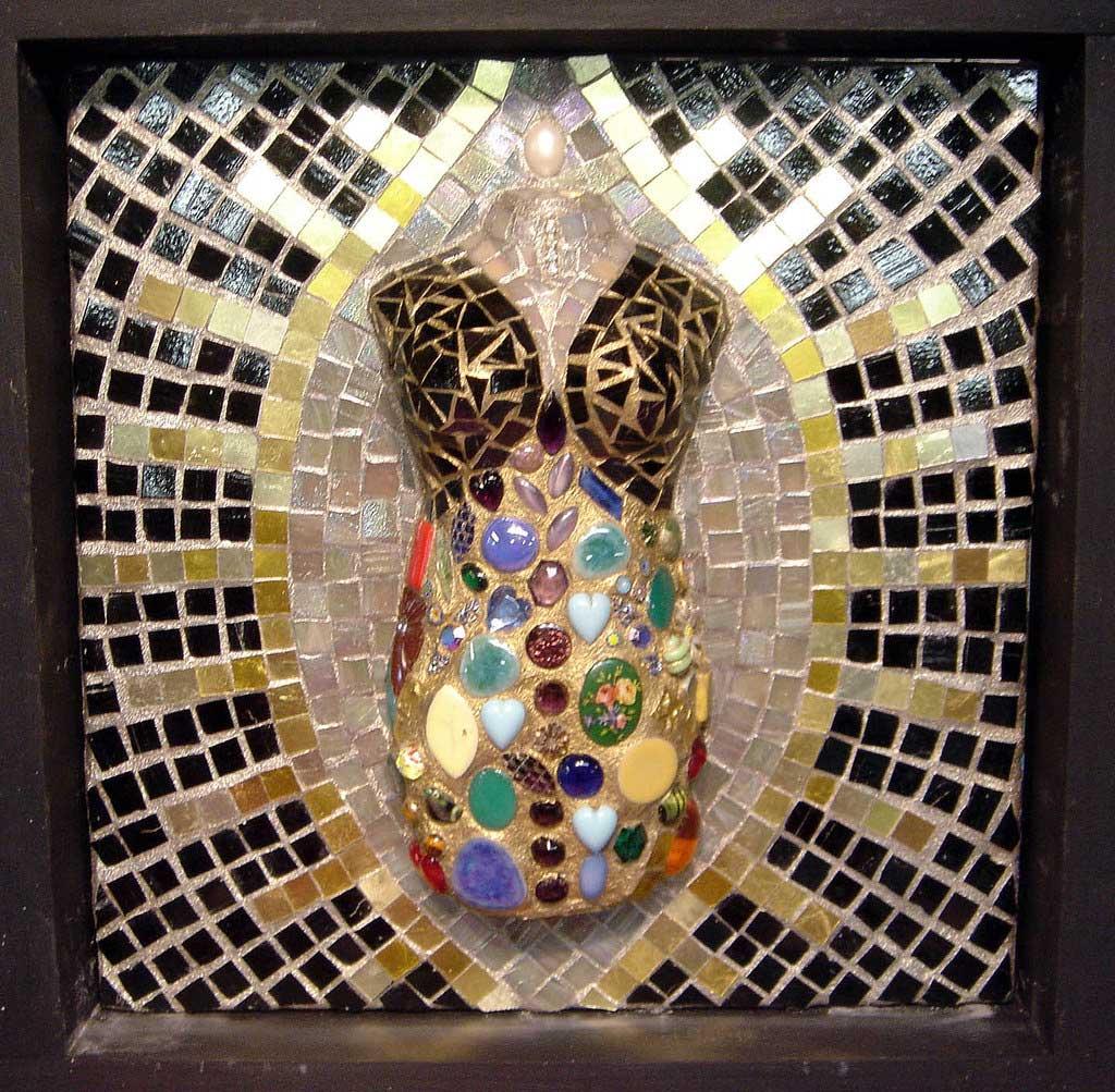 Dress Dummy Mosaic Artwork