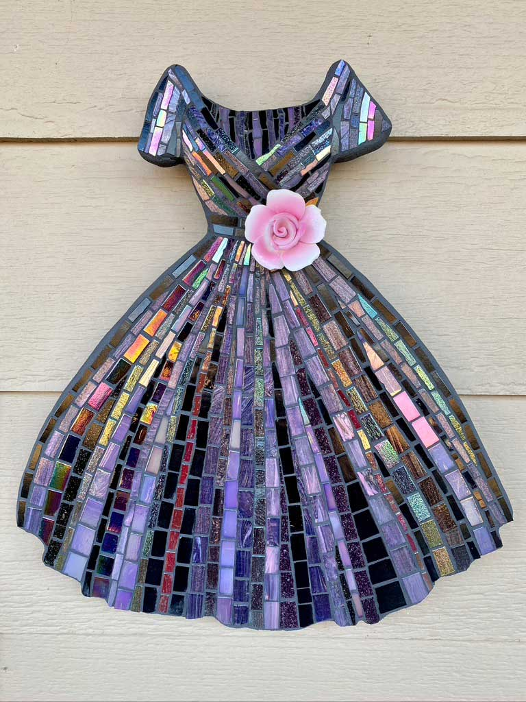 Dress Mosaic Artwork