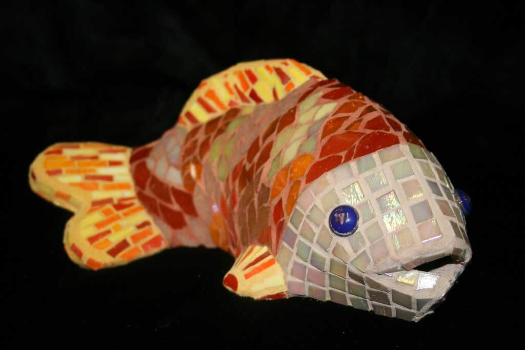 Fish Mosaic Art Commission