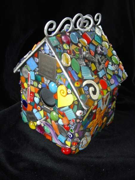 House Mosaic Artwork
