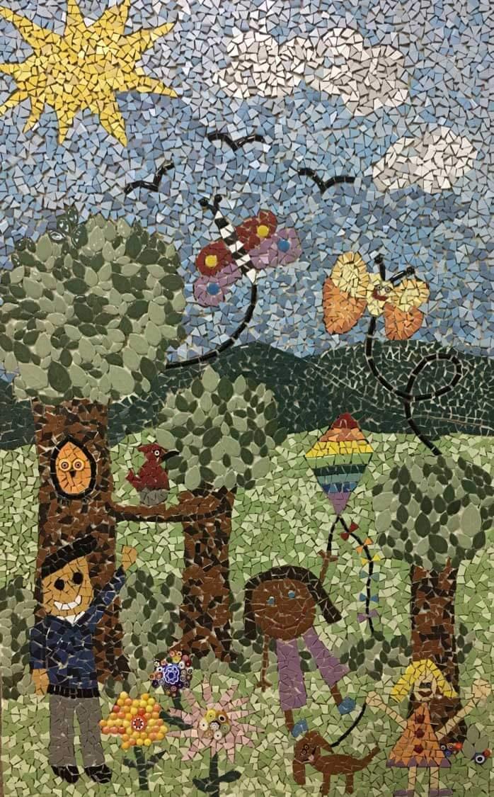 Kids Mosaic Artwork