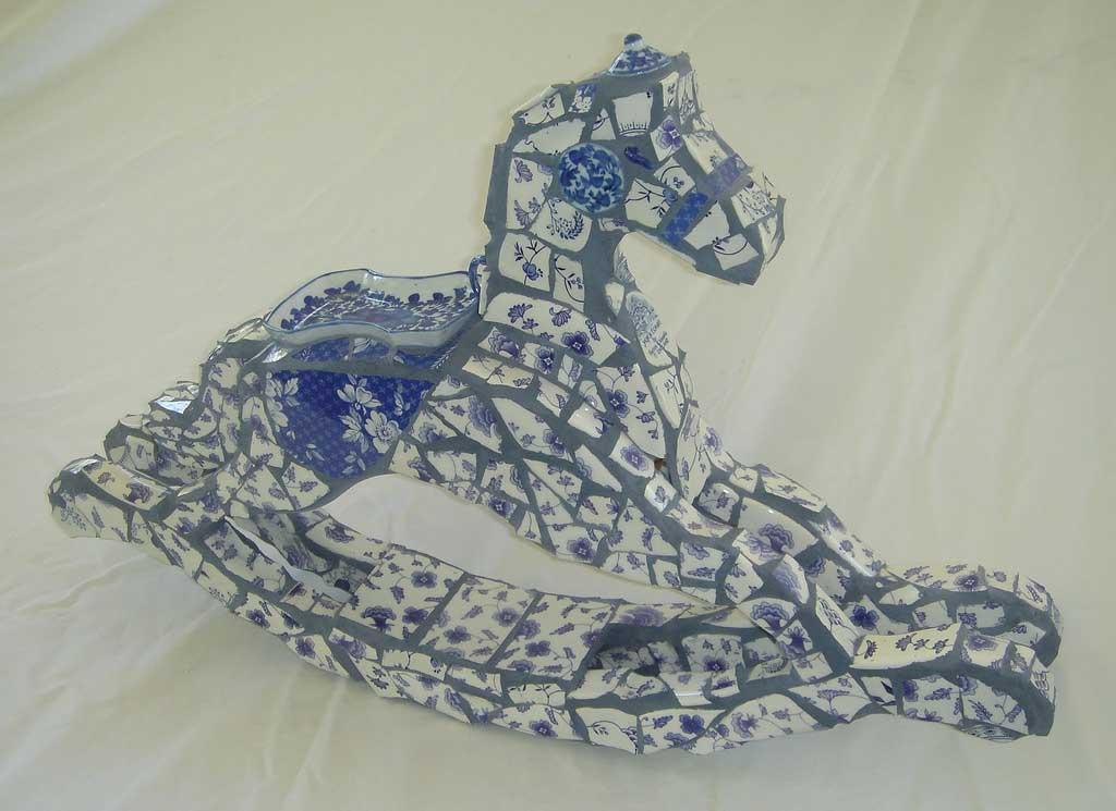 Rocking Horse Mosaic Artwork