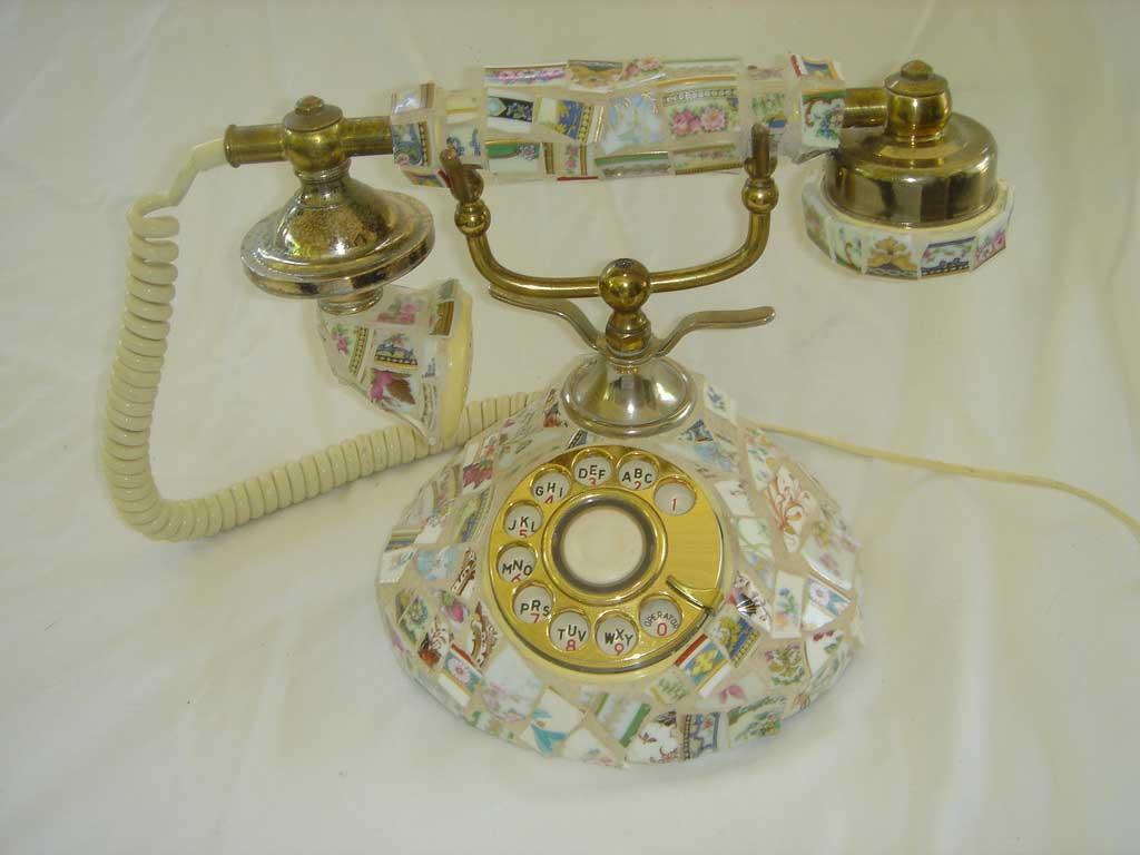 Telephone Mosaic Artwork